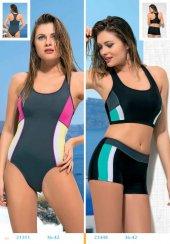 Endeep Yüzücü Mayo Mayokini Bikini 21311