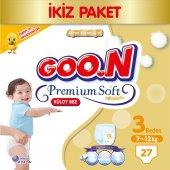 Goon Premium No 3 Külot Bebek Bezi 27 Ad