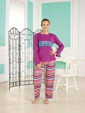 Estiva 16314 İnterlok Pamuklu Bayan Pijama Takım