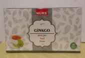 2 Kutu Nurs Gingko Bitki Çayı 20x2 Süzen Poşet