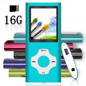 Tomameri Mp3 Mp4 Player With Rhombic Button, Including A 16 Gb