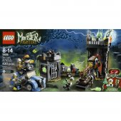Stoktan Lego Monster Fighters The Crazy Scientist 9466