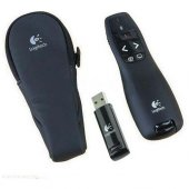 Logitech R400 Kablosuz Sunum Kumandası (Orjinal Taşıma Çantası Ve Tkz Mouse Pad Hediye)