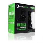 Gamepower Medusa 7.1 Oyuncu Kulaklık Siyah