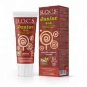 Rocs Junior 6 12 Yaş Çikolata Karamel Diş Macunu 60 Ml