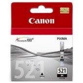 Canon Clı 521 Bk Siyah Orijinal Kartuşip3600 4600 4700 Mp540