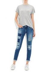 Mavi 1020521402 Bayan Ada Patched &rippet Country Vintage Denim Pantolon