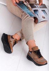Moita Taba Taşlı Bayan Spor Ayakkabı