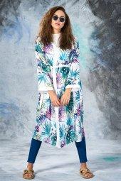 Eda Atalay Kimono Ekru 4904 52