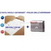 Havlu Kağıt Z Katlı+palex 200lü Krom Dispenser
