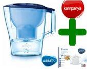 Brita Aluna Xl Filtreli Su Arıtmalı Sürahi + 2 Yedek Filtre Hediy