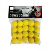 Vardem Oyuncak Slaze Storm Yumuşak Top Mermi Zc05