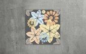 Pastel Çiçekler Kanvas Tablo