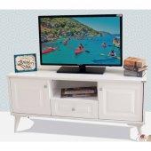Beyaz Tv Sehpası 120 Cm