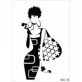 Wc15 Woman Collection Cadence A4 Stencil