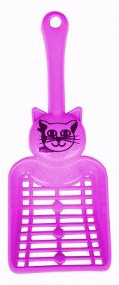 Percell Kedi Tuvaleti Küreği Pembe