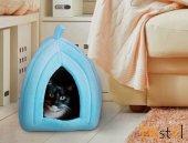 Pet Hut Polar Kedi Ve Köpek Yatağı Mavi