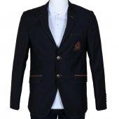 Erkek Blazer Ceket Lacivert Slim Fit Mevsimlik Rar00331