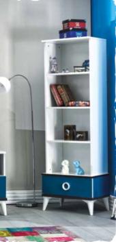 Kitaplık, Express Mavi Genç Odası, Kitaplık