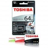 Toshıba M401 64gb Microsdxc Uhs I Card 5sdtshb649580