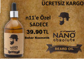Nano Absolute Beard Oil Sakal Serumu 50 Ml.