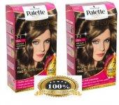 Palette Deluxe 7.1 Kullu Kumral Saç Boyası 2 Adet
