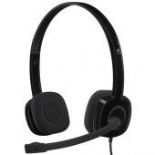 Logitech H151 Mic. Kulaklık Tek Jak 981 000589