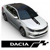 Dacia Kaput Oto Sticker