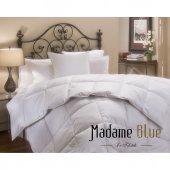 Madame Blue Microfiber Çift Kişilik Yorgan 195x215 Cm