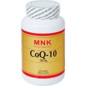 Mnk Coq 10 100 Mg 120 Softgels