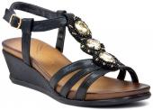Gedikpaşalı 1598 8ys 182 Siyah Bayan Ayakkabı Terlik Sandalet