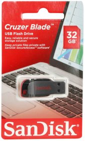 Sandisk 32 Gb Usb Flash Bellek