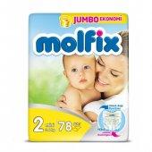 Molfix 2 Numara Mini Bebek Bezi Jumbo Ekonomi 78 Adet