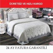 Anna Carina Battaniye Tak. Safir Biyeli Ekru