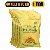 Fosil Power Organik Toprak Düzenleyici Leonardit 40 Paket 1 Ton