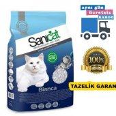 Sanicat Bianca Topaklaşan Doğal Kedi Kumu 5 L