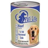 Pati Life Biftekli Yetişkin Köpek Konservesi 400 Gr