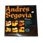 Plak Andres Segovia* Andres Segovia Plays J. S. Bach