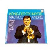 Plak Maurice Andr� König Der Trompete Trompetle Vivaldi Albino