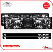 Suzuki Logolu Pleksi Plakalık