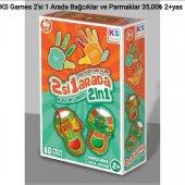 Ks Games 2' Si 1 Arada Bağcıklar Ve Parmaklar ...