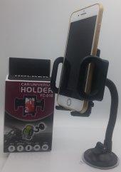 Universal Araç İçi Telefon Tutucu Tutacağı Vantuzlu