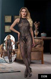Dream Night 2126 Fantezi Vücut Çorabı Siyah Stn