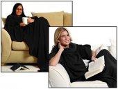 Giyilebilir Kollu Battaniye Siyah