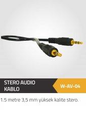 Winkel 1.5 Mt.3.5 Mm Stero Stero Audi Kablo