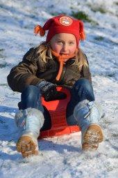 çocuklar İçin Kar Kızağı