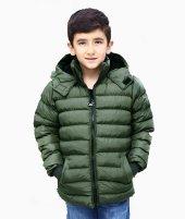 Milan Çocuk Club Erkek 6 7 8 9 Yaş Çocuk Kaban Mont Haki Renk