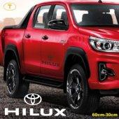 Toyota Hilux Yan Kapı Off Road Oto Sticker 1 Adet