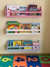 üçlü Linar Lake Montessori Kitaplık Raf