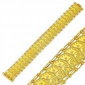 Altın Reşat Bileklik 27 Sıralı 14 Ayar Rst42 8210